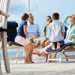Hatteras 105 Raised Pilothouse Lifestyle On Deck