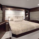 Hatteras 105 Raised Pilothouse VIP Stateroom