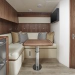 Hatteras GT45 Express Dining Area
