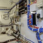 Hatteras GT45 Express Engine Room Wiring