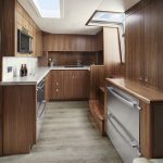 Hatteras GT45 Express Entire Galley Dark