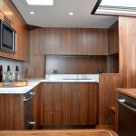 Hatteras GT45 Express Full Galley Dark