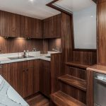 Hatteras GT45 Express Galley Dark
