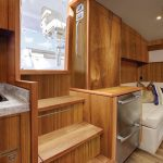 Hatteras GT45 Express Galley and Helm Deck