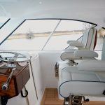 Hatteras GT45 Express Helm Seating Lower