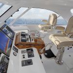Hatteras GT45 Express Lower Helm Deck