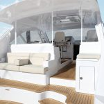 Hatteras GT45 Express No Top Seating