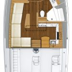 Hatteras GT45 Express Single Stateroom