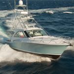 Hatteras GT45 Express With Tower Running Bow