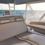 Hatteras GT59 Flybridge Seating