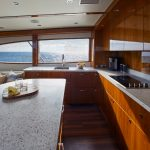 Hatteras GT59 Full Galley