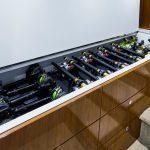 Hatteras GT59 Reel Storage