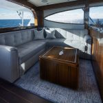Hatteras GT59 Salon Dark