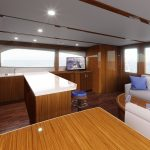 Hatteras GT65 Carolina Galley Rendering
