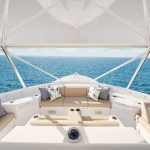 Hatteras GT70 All Flybridge Seating
