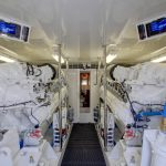 Hatteras GT70 Engine Room