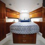 Hatteras GT70 VIP Stateroom