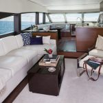 Hatteras M60 Full Salon and Galley