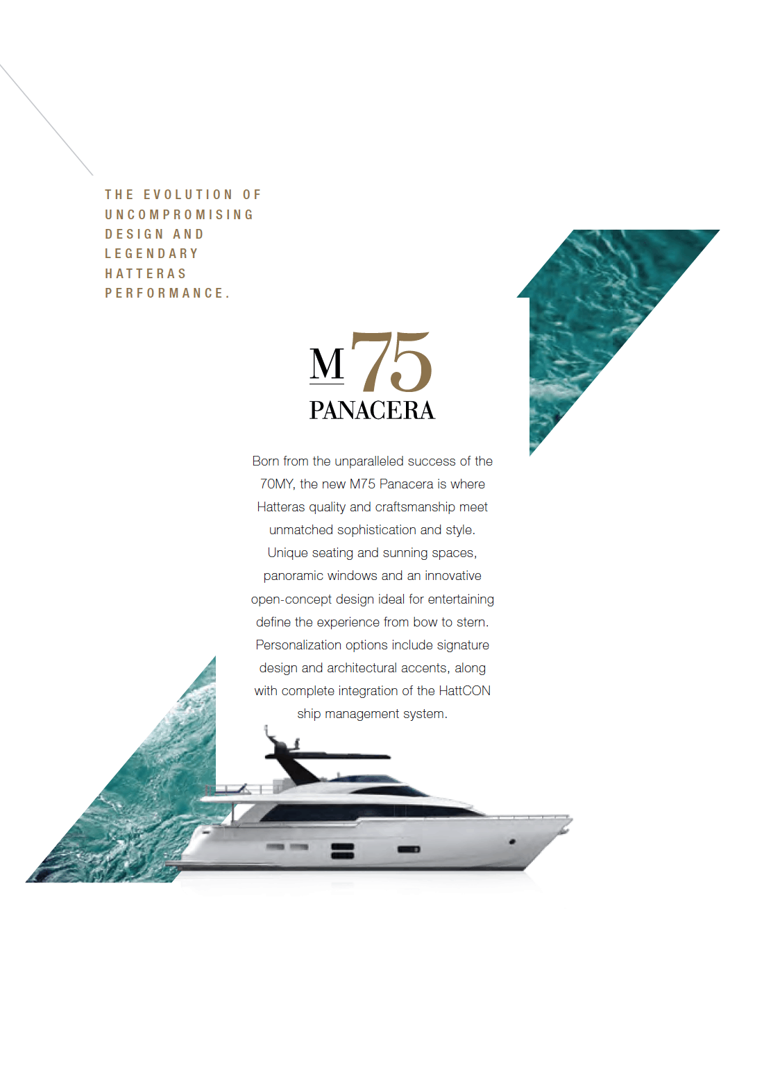 Hatteras M75 Panacera Summary