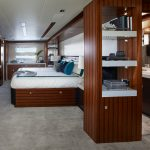 Hatteras M90 Panacera Master Staterom with Head