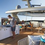 Hatteras M90 Panacera Top Deck Forward