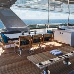 Hatteras M90 Panacera Top Deck Port