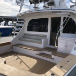 Hatteras GT65 Carolina Cockpit