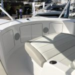 Hatteras GT65 Carolina Flybridge Seating