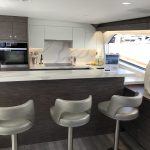 Hatteras GT65 Carolina Galley Bar