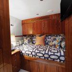 Hatteras GT70 Enclosed Bridge Additional Bunk Room