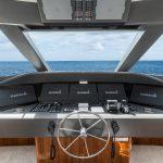 Hatteras GT70 Enclosed Bridge Helm
