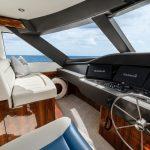 Hatteras GT70 Enclosed Bridge Helm Port
