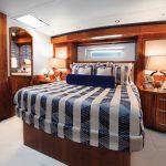 Hatteras GT70 Enclosed Bridge Master Stateroom