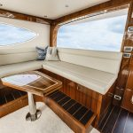 Hatteras GT70 Enclosed Bridge Seating