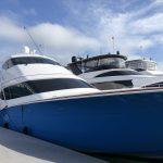 Hatteras GT70 Enclosed Bridge Starboard