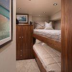 Viking 80 Enclosed Bridge Double Bed