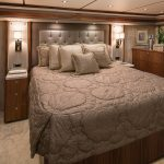 Viking 80 Enclosed Bridge Master Room
