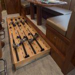 Viking Yachts 80 Enclosed Bridge Rod Stowage