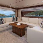 Viking 80 Enclosed Bridge Salon Couch