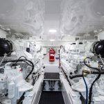 Viking 58 Convertible Engine Room