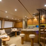 Viking 62 Enclosed Bridge Lounge