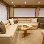 Viking 62 Enclosed Bridge Salon Couch