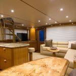Viking 62 Enclosed Bridge Salon Reef