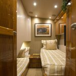 Viking 62 Enclosed Bridge Double Bed