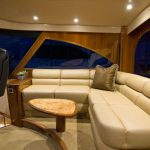Viking 62 Enclosed Bridge Helm Couch