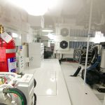 Viking 62 Enclosed Bridge Engine Room