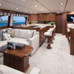 Viking Yachts 72 Enclosed Bridge Full Salon