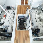 Viking 46 Billfish Engine Room
