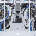 Viking 62 Convertible Engine Room