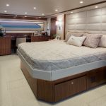 Viking 92 Enclosed Bridge Master Room